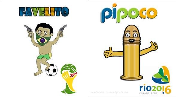 Vote no Mascote da Copa do Mundo! - Diversos - HUMORBABACA.com d4b2f52c60bfe
