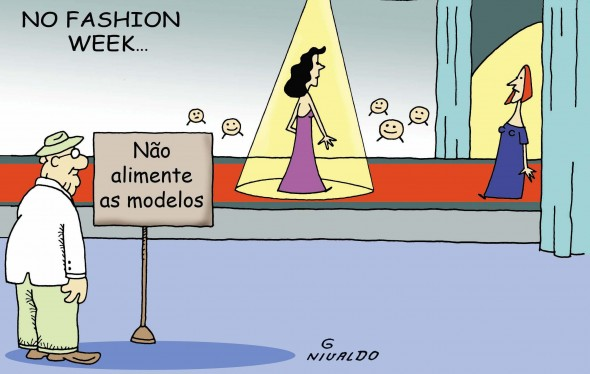 Fashion week...