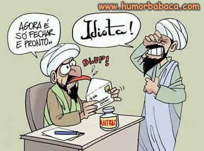Terrorista idiota