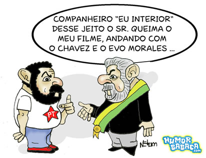 Queimando o filme do Lula