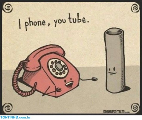 I phone e you tube