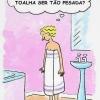 A culpa é da toalha...
