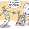A múmia vaidosa...