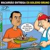 Macarrão e o ex-goleiro Bruno...