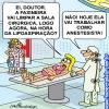 Faxineira anestesista!