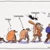 A evolução do parasita...