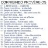 Corrigindo Provérbios