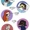 Espirrando em vários idiomas!