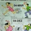 Antes e depois do Carnaval!