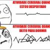 Atividade cerebral...