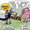 A dengue contra a gripe suína!