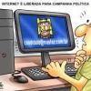 Campanha politica na net?