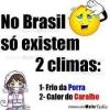 Os climas no Brasil