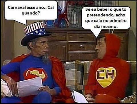 Chaves no carnaval...