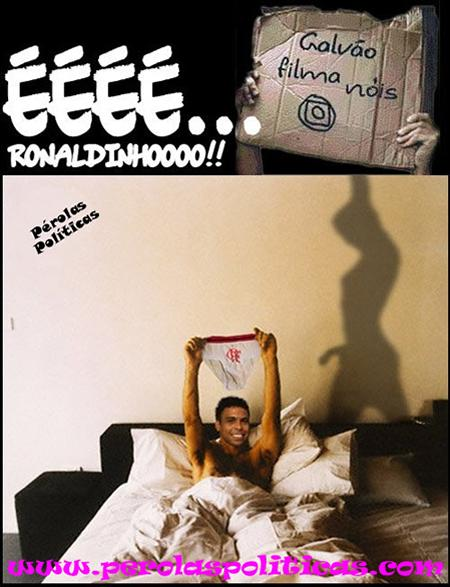 Ronaldinho no motel