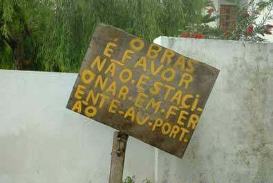 Placa Analfabeta