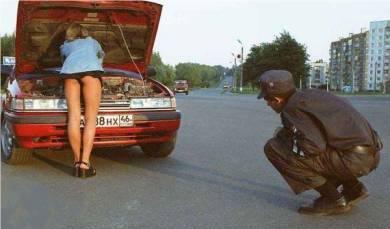 Ajudando a concerta o carro