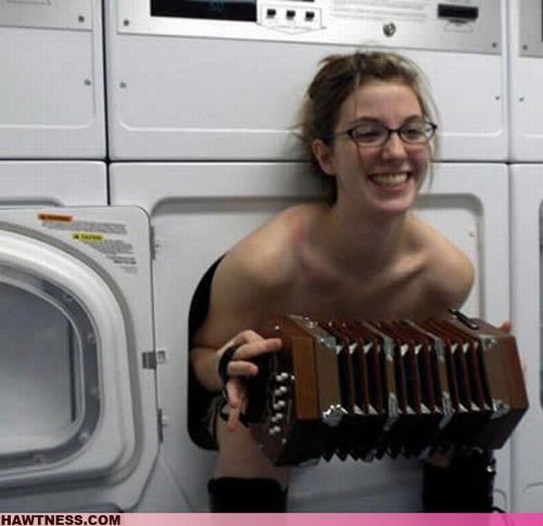 Se lavando