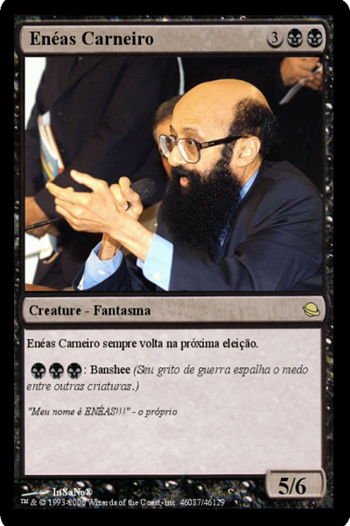 Carta Magic de Enéas Carneiro