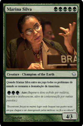 Carta Magic de Marina Silva