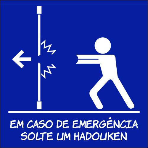 Em caso de emergência
