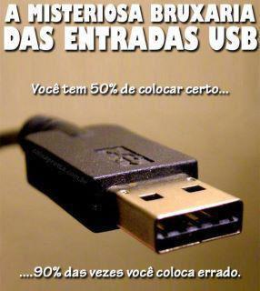 A bruxaria do USB