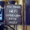 Sem Wi-fi...