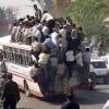 Transporte público na Índia...