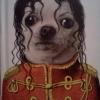 O cachorro do Michael Jackson!