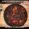 Queimando calorias...