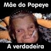 A mãe do marinheiro Popeye...