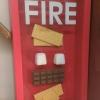 Mas só em caso de incêndio...