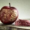 Arte na maçã