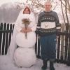 A noiva de neve!