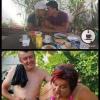 Antes e depois do casório...