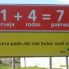 A verdadeira matemática...