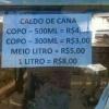 Tabela de preço...