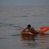 Um pescador solitário...