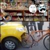 A bike do Chuck Norris...