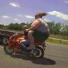 Como a moto não levantou?
