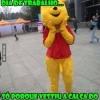 Ursinho Pooh com uniforme errado
