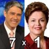 Bonner 7a1 na Dilma