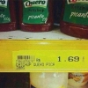 Ketchup Inusitado no mercado