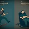Versão Facebook vs Versão vida real