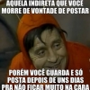 Indiretas no Facebook
