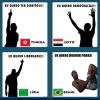 A diferença entre brasileiros e estrangeiros