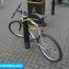 Bicicleta presa
