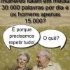 Por que as mulheres falam muito?