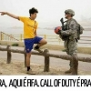 Call of Duty e Fifa juntos