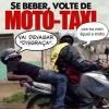 Bêbado na moto